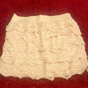 Rue21  Ruffle mini skirt
